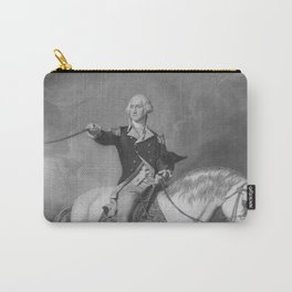 Washington Receiving A Salute At Trenton Carry-All Pouch