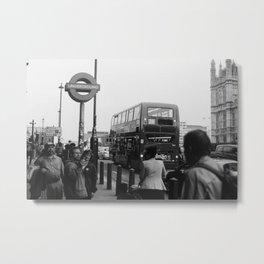 Iconic London Metal Print