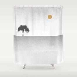 Tree Artwork Landscape Shower Curtain