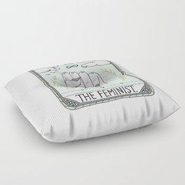 The Feminist Floor Pillow