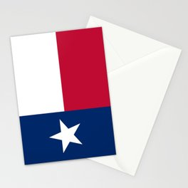 State flag of Texas Stationery Cards