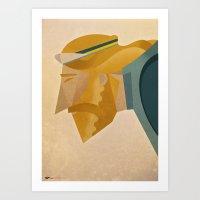 jesus Art Prints featuring Jesus by Riccardo Guasco