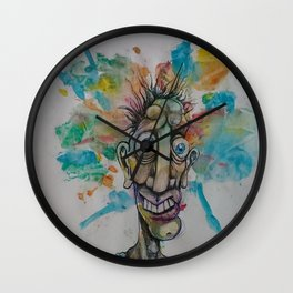 The Cosmic Derp (resized) Wall Clock
