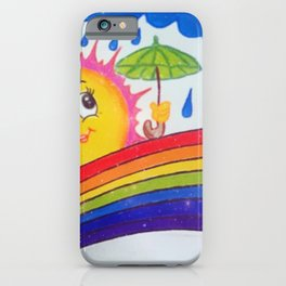 Shine after Raining iPhone Case