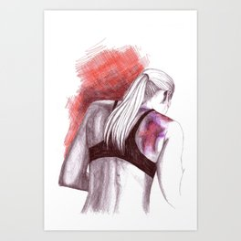 Whatever it takes... Art Print