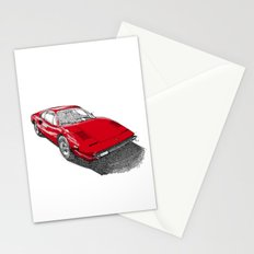 Red Ferrari for Christmas Stationery Cards