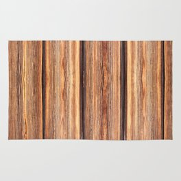 Weathered boards texture abstracts Rug
