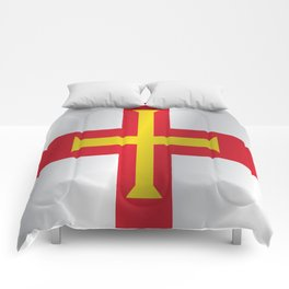 Flag of Guernsey Comforters