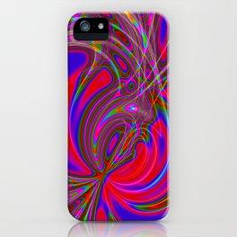 Alive 2 (neon) iPhone Case