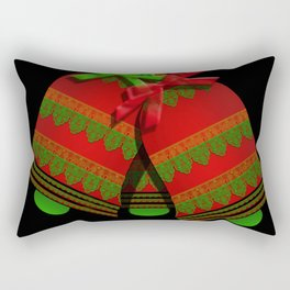 Christmas Bells Rectangular Pillow