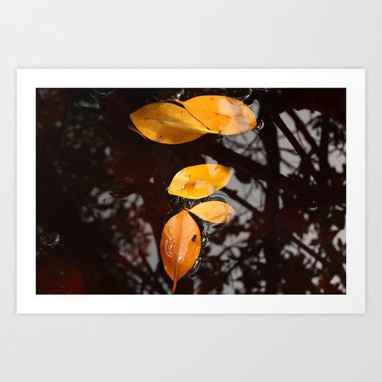 It feels like Autumn Art Print
