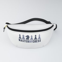 Master of Chess Player Gift Chess Game Fanny Pack