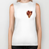 camus Biker Tanks featuring Welcoming autumn  by Giada Rossi