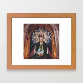 Queen Frida Framed Art Print