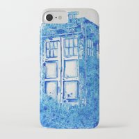 tardis iPhone & iPod Cases featuring TARDIS by Redeemed Ink by - Kagan Masters