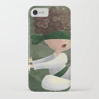 ninja iPhone & iPod Cases featuring Ninja by Miuska