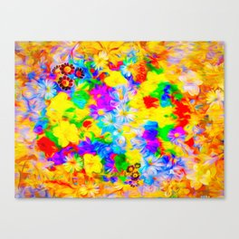 Floral Feast I Canvas Print