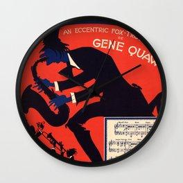 OLD MAN JAZZ an eccentric fox-trot song by Gene Quaw Wall Clock