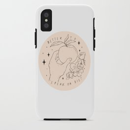 Speak Or Die ? iPhone Case