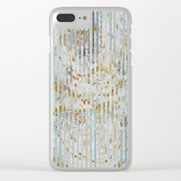 Gold roses Clear iPhone Case