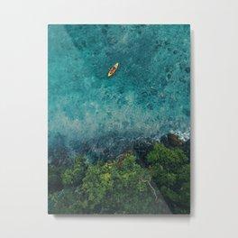 Kayaking in The Philippines  Metal Print