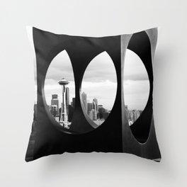 Kerry Park Throw Pillow