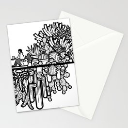 Chai and Cacti Stationery Cards