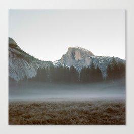 Morning Mist, Yosemite Canvas Print