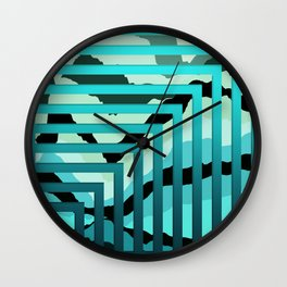TOPOGRAPHY 2017-007 Wall Clock