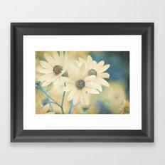 Altered States -- Helianthus Sunflower Autumn Botanical Framed Art Print