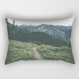 Happy Trails III Rectangular Pillow