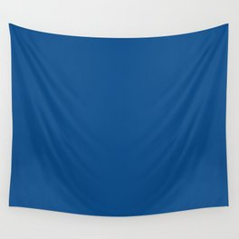 Lapis Lazuli Blue - Solid Color Collection Wall Tapestry