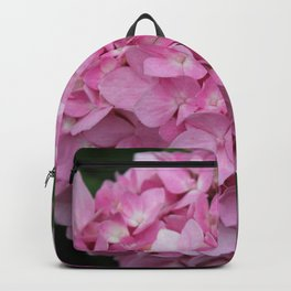 Pink Hydrangea in Full Bloom Backpack