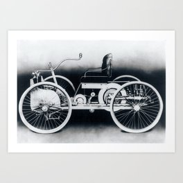 Ford quadricycle Art Print