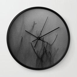 Hazy Woods Wall Clock