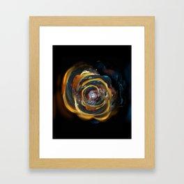 Trash Rose Framed Art Print