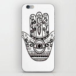 Hamsa Hand iPhone Skin