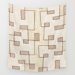 """Proto pattern n 1 """"toffee cake"""" Wall Tapestry"""