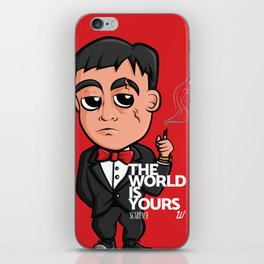 Scarface The World Is Yours iPhone Skin