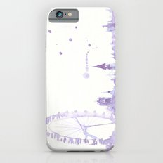 Watercolor landscape illustration_London Eye iPhone 6s Slim Case