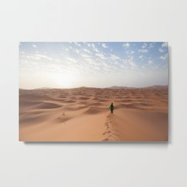 Sahara sunrise Metal Print