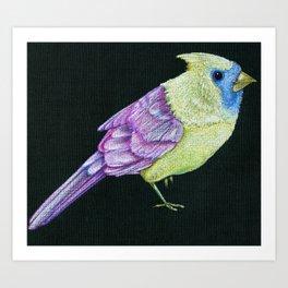 Colorful Cardinal Art Print