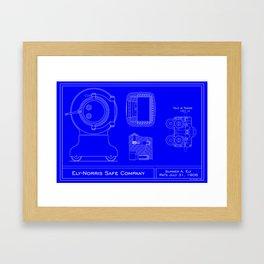 Ely-Norris Cannonball Framed Art Print