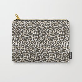 Elegant gold leopard animal print pattern Carry-All Pouch