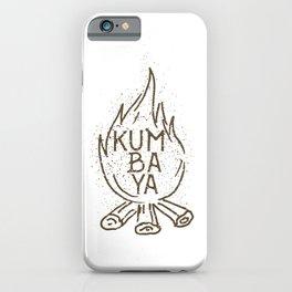 Kumbaya campfire iPhone Case