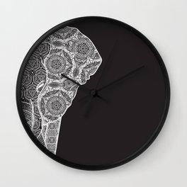 Elphant mandala 2 Wall Clock