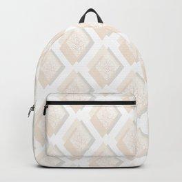 Minimalist Geometric II, Mid Century Modern Backpack