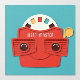 Insta-Master Canvas Print
