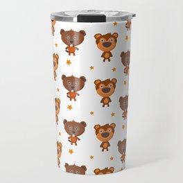 Cartoon animal cute pattern Travel Mug