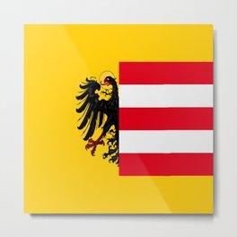 Flag of Nuremberg Nürnberg Metal Print